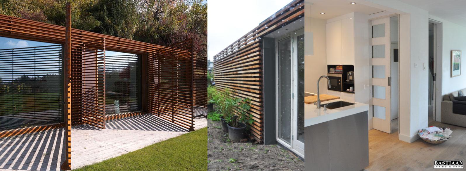 het kleine woonhuisarchitectuur   renovatie   nieuwbouw